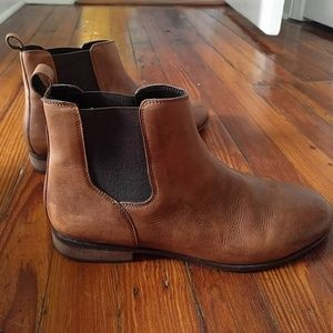 Hawkins mcgill pull up leather chelsea boot